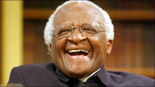 Desmond Tutu uit Zuid-Afrika is een warm pleitbezorger van Ubuntu.